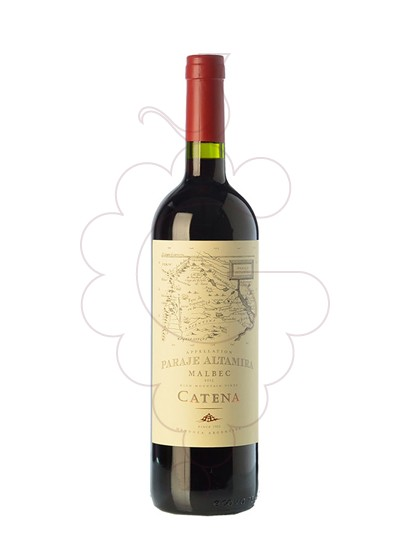 Photo Catena paraje altamira red wine
