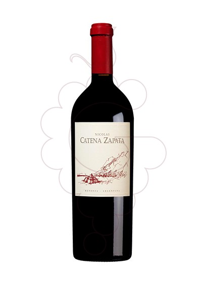 Photo Catena Zapata Nicolás  red wine