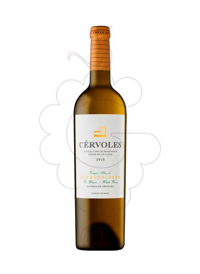 Photo Cervoles Blanc Roure white wine
