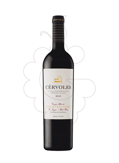 Photo Cervoles Negre red wine