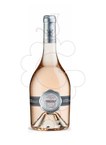 Photo Rosé Ch. Barbebelle Heritage rosé wine