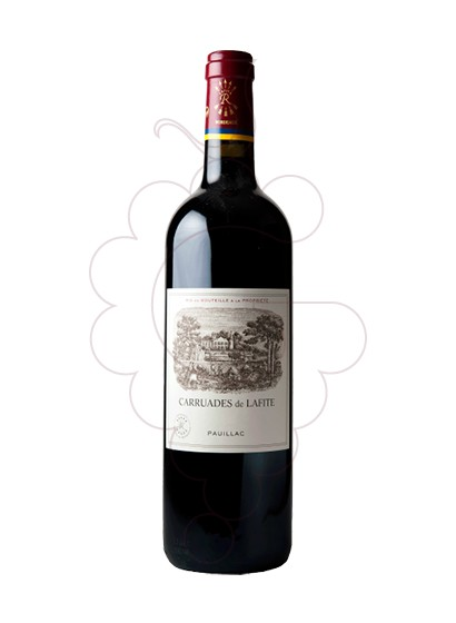 Photo Ch. Carruades de Lafite red wine