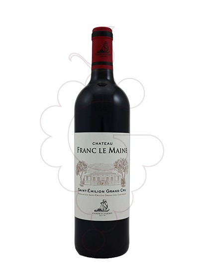 Photo Ch Franc Le Maine Saint Émilion Magnum red wine