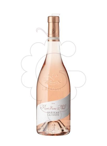 Photo Chateau la Coste Rosé d'une Nuit rosé wine