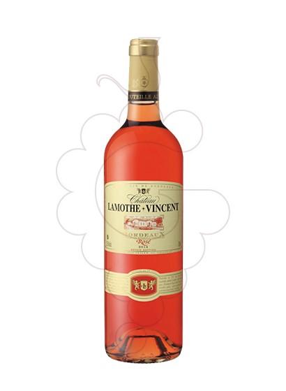 Photo Rosé Ch Lamothe-Vincent rosé wine