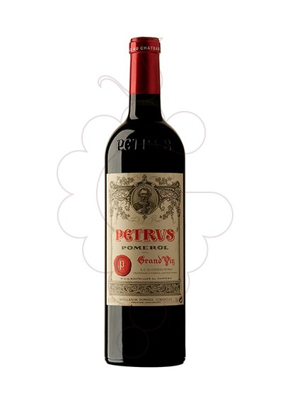 Photo Ch. Petrus red wine