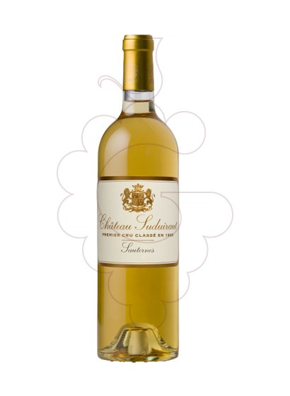 Photo Ch. Suduiraut Sauternes  red wine