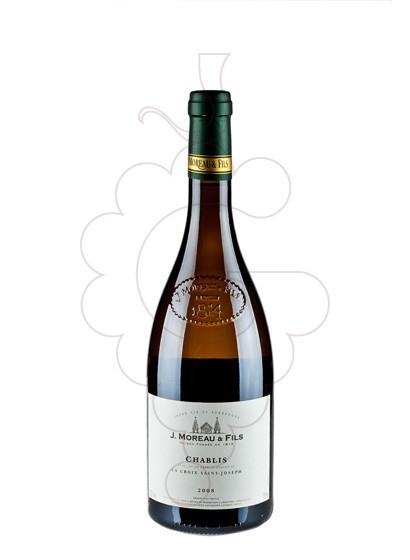 Photo Chablis J. Moreau & Fills white wine