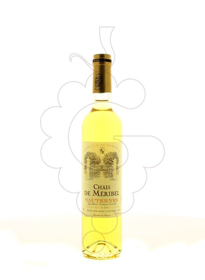 Photo Chais de Meribel Sauternes fortified wine