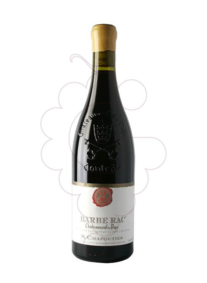 Photo Chapoutier Barbe Rac Chateneuf-du-Pape red wine