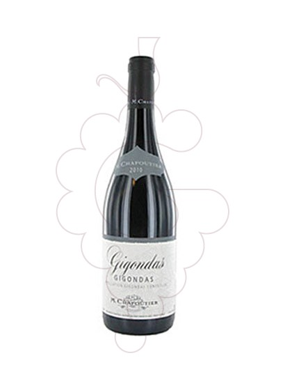Photo Chapoutier Gigondas red wine