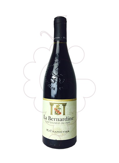Photo Chapoutier La Bernardine Chateneuf-du-Pape red wine