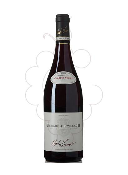 Photo Charles Vienot Beaujolais-Villages red wine
