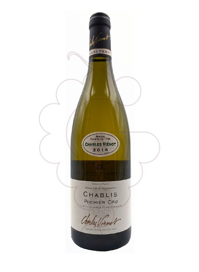 Photo Charles Vienot Chablis 1er Cru white wine