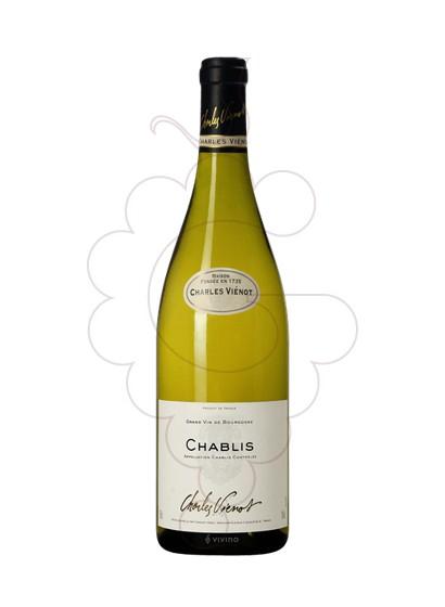 Photo Charles Vienot Chablis white wine