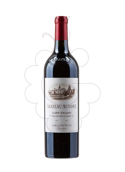 Photo Chateau Ausone red wine