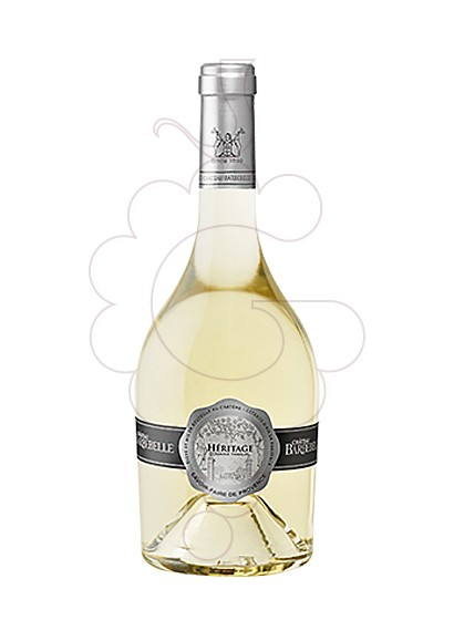 Photo Blanc Ch. Barbebelle Heritage white wine