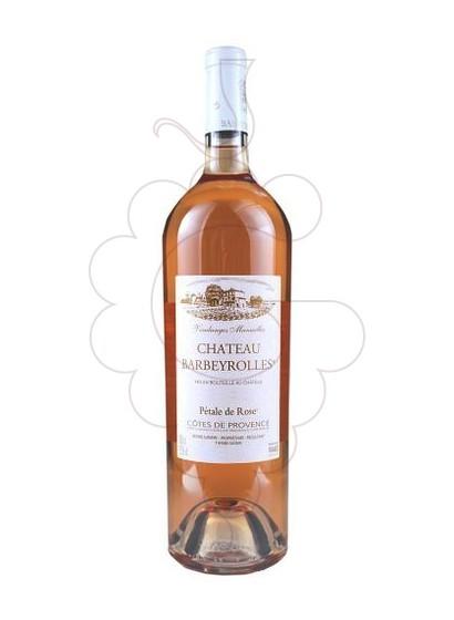 Photo Chateau Barbeyrolles Cuvée Pétale de Rose rosé wine