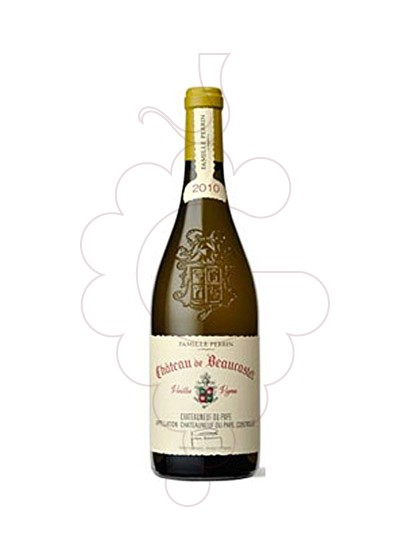 Photo White Chateau Beaucastel white wine