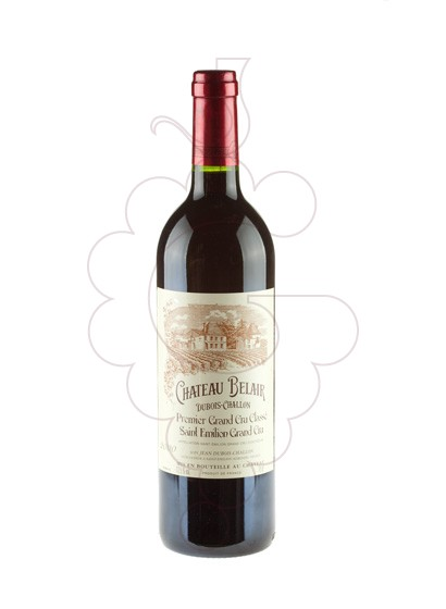 Photo Chateau Belair Dubois Challon red wine