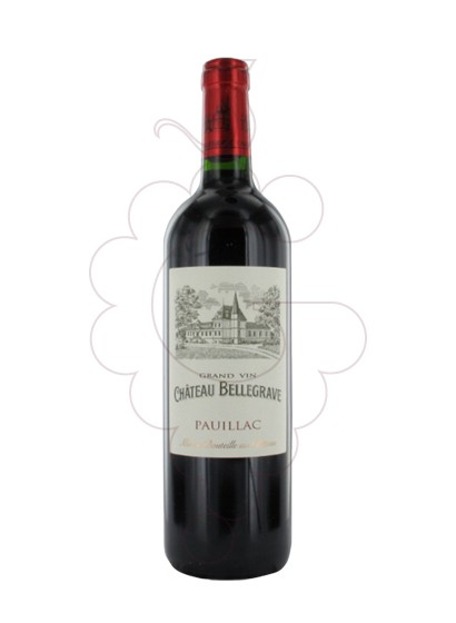Photo Chateau Bellegrave red wine