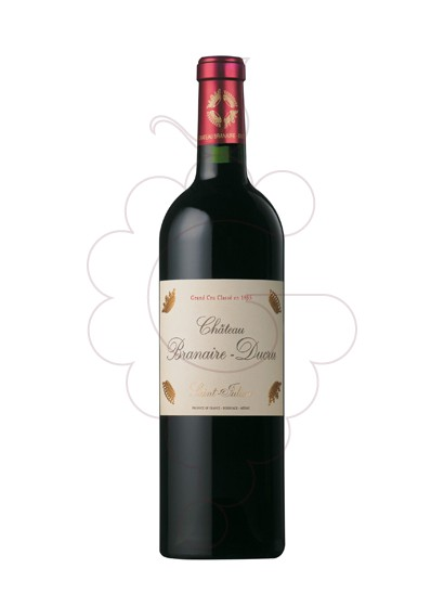 Photo Chateau Branaire-Ducru red wine