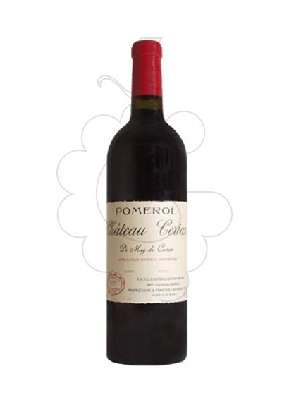 Photo Chateau Certan  red wine