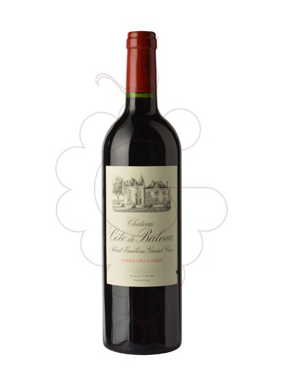 Photo Chateau Cote Baleau  red wine