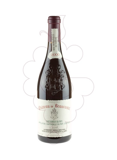 Photo Chateau de Beaucastel  red wine