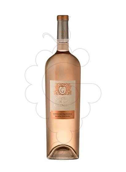 Photo Chateau de la Galiniere rosé wine