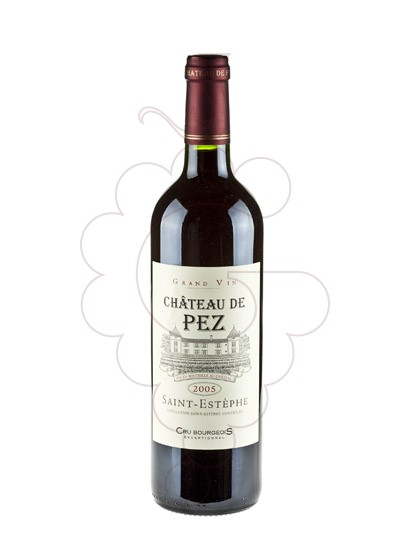 Photo Chateau de Pez  red wine