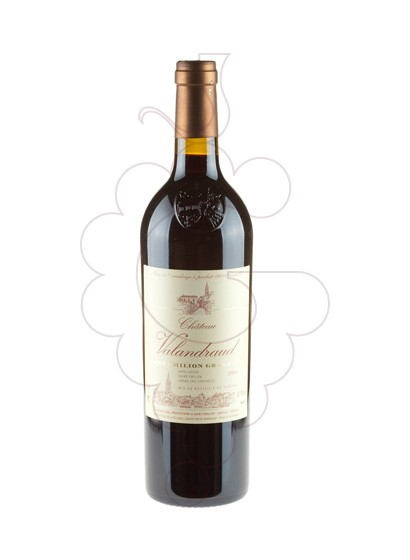 Photo Chateau de Valandraud  red wine