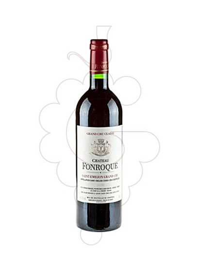 Photo Chateau Fonroque red wine
