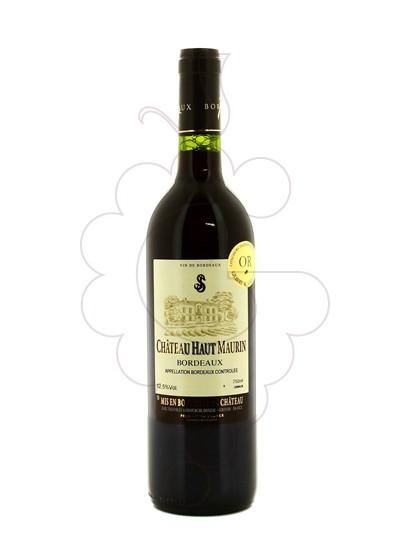 Photo Chateau Haut Maurin red wine