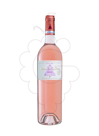 Photo Chateau la Gordonne rosé wine