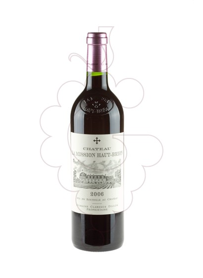 Photo Chateau La Mission H. Brion red wine
