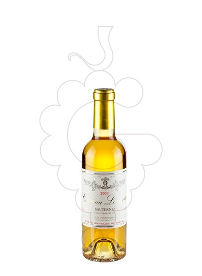 Photo Chateau Laribotte Sauternes fortified wine