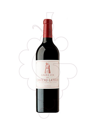 Photo Chateau Latour  red wine