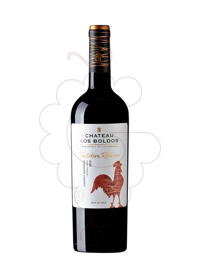 Photo Chateau los Boldos Carmenere red wine