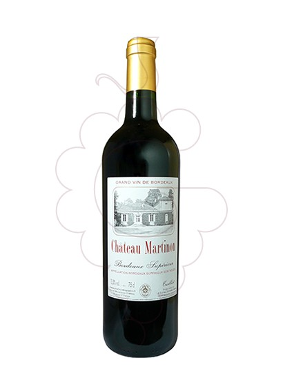 Photo Chateau Martinon red wine