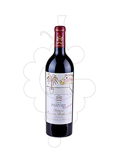 Photo Chateau Mouton Rothschild   red wine