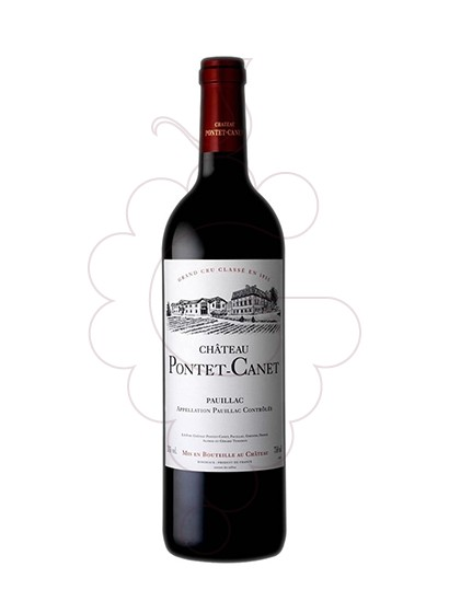 Photo Chateau Pontet-Canet  red wine