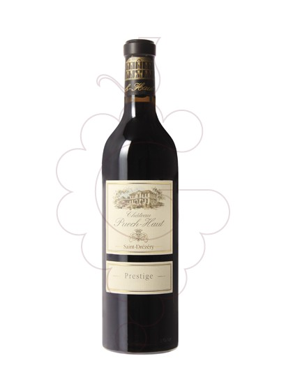 Photo Red Chateau Puech-Haut Prestige red wine
