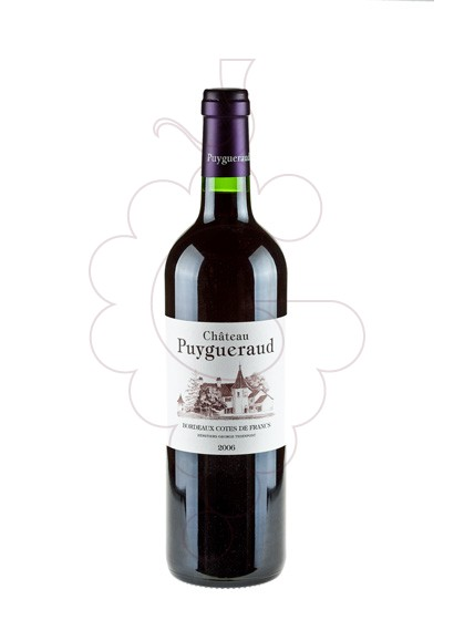 Photo Chateau Puygueraud red wine
