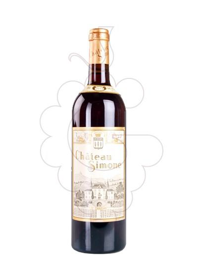 Photo Rosé Chateau Simone rosé wine