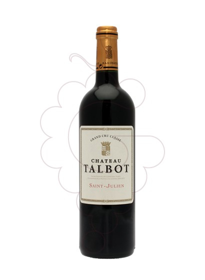 Photo Chateau Talbot red wine