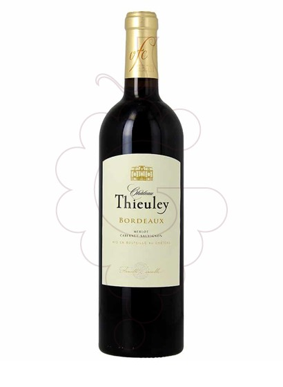 Photo Red Chateau Thieuley red wine