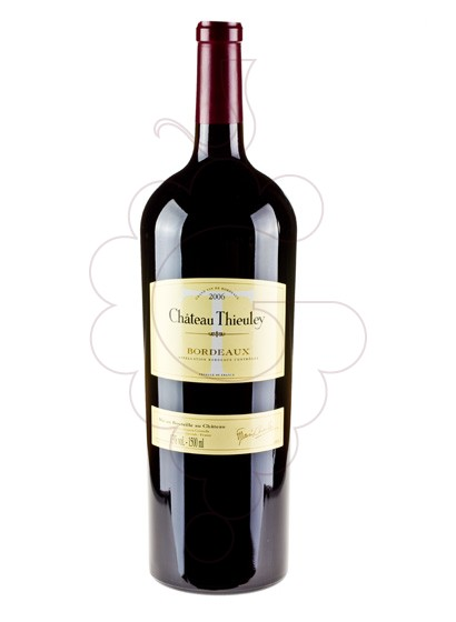 Photo Chateau Thieuley Magnum red wine