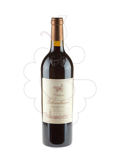 Photo Chateau Valandraud red wine