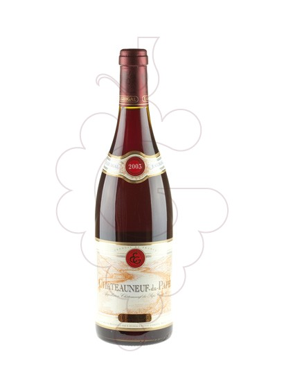 Photo Chateauneuf-du-Pape E. Guigal red wine